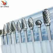 Tungsten Carbide Rotary Rotary Tool Dremel Foredom Bits Burrs Steel Drill Shank
