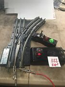Lionel 022 Remote Control Switch Right Hand Turnout With New Wire ...very Nice 1