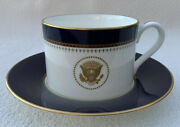 Uss Ronald Reagan Cup And Saucer Cvn-76 Fitz Floyd China - Multiple Available