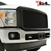 Tidal Mesh Grille Packaged Replacement Abs Fit 11-16 Ford F250/ F350 Super Duty