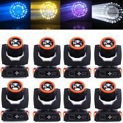 8pcs Stage Lighting 7r Sharpy 230w Moving Head Beam Light 16+8prims For Dj Party