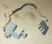 1961 1962 Lincoln Continental Orig Convertible Top Deck Lid Open Limit Switch