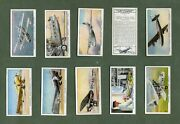 Tobacco Cigarette Cards International Air Liners Imperial Airways Flying Boat