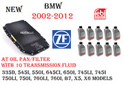 Zf Automatic Transmission Oil Pan/filter Kit With X10 Fluids Bmw Land Rover Oem