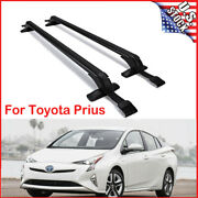 For Toyota Prius 2002-18 20-21 2pcs Car Roof Rack Cross Bar Top Luggage Carrier
