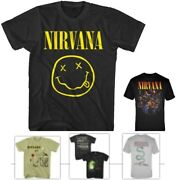 Concert Tees Nirvana Mens T-shirt - Officially Licensed - Nwt