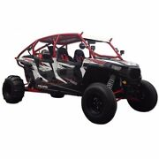Polaris Rzr Xp1000 Radius Roll Cage W/bumper, Roof And Tabs For Led Bar And Whip Tab
