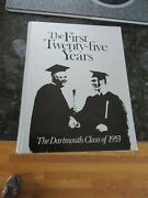 The Dartmouth Class Of 1953 The First 25 Years Annual Ec Charles Beutel