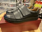 Bally Willet Black Leather Sneakers 11.5 Us 44.5 Italy