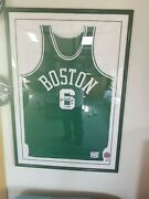 Bill Russell Autograph.. Framed..limited Edition 1963 Jersey.excellent Condition