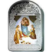 500 Years The Sistine Madonna By Raphael.1 Kilo Proof Silver Coin Andorra 2012