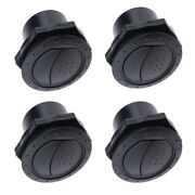4pcs Universal Round A/c Air Outlet Vent For Rv Bus Boat Yacht Air Conditioner