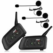 Ejeas V6 Pro 2x Headset Intercom Motorcycle Bluetooth For Motorcycles
