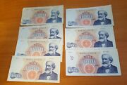 1962 Italy 1000 Lire Mille Banknote Lot 7