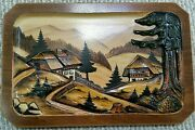 Germany-black Forest 3d Carved Wood Painting