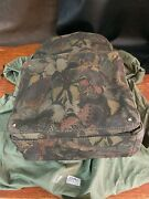 Valentino Garavani Canvas Butterfly Camouflage Backpack For Men ------- New