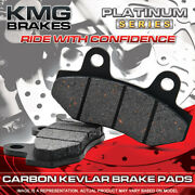 Front + Rear Organic Nao Brake Pads For 2007 Harley Davidson Sportster Xl 50
