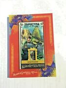 Topps Allen And Ginter Dimetroden Relic Tooth 1/1 2010 Monsters Of The Mesozoic