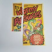 1979 Topps Wacky Packages Stickers Smoochers Paid Blecch Scorch Swiss Mess Oa