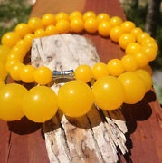 51 Bead Baltic Amber Huge Natural Gumball Beads 17 Unisex Necklace 58