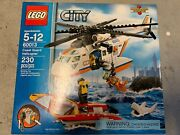 Lego City Coast Guard Helicopter 60013 Excellent Condition