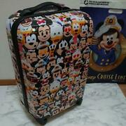 Disney Cruise Carry Bag Suitcase Japan Limited Rare
