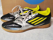Adidas F50 Mens Indoor Soccer Shoes Size 6 Black Yellow