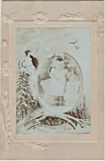 1890s Cp Cute Baby Girl Big Porcelain Doll Montage Arcade Russian Antique Photo
