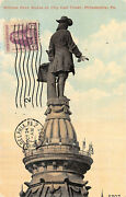 724 3c William Penn Group Of 10 Different Post Card Cards [832853]