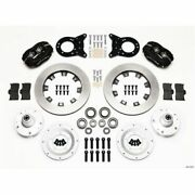 Wilwood 140-11072 Forged Dynalite Big Brake Front Disc Kit For 1965-1969 Mustang