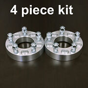 4pc 1.25 Adapter Spacers - Allows 5x5 Cars To Use 5x4.5 Wheels - 12x1.5 Stud