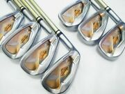 Left-handed 2star Honma Beres Is-03 Forged 7pc R-flex Irons Set Golf Beres