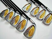 9pc Left-handed 2-star Honma Twin Marks Tm-503 R-flex Irons Set Golf Clubs Beres
