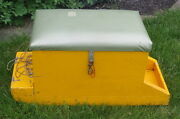 1940and039s Ice Fishing Box / Sled / Seat