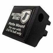 Bulletproof Hitches Trailer Hitch Pintle Attachment Rated To 36000lbs Solid St