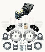 1966-75 Ford Bronco Front Power Disc Brake Conversion, Deluxe Wilwood Bronco Kit