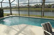 930 Florida Vacation Homes 4 Bed Pool Home With Lake View Monthly Snowbird Rates