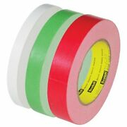 3m 3/4 X 60 Yds. Red - 256 Flatback Tape T944256r Category Box Sealing Tape