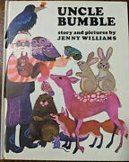 Rare Uncle Bumble Mint Condition Jenny Williams 1970 Heritage Press Hc