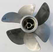 Pair Front And Rear Volvo Penta E3 Duo Prop Stainless Steel 3 Blade Propeller N7