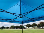 10'x10' Pop Up Tent Canopy W Wheel Bag And Sand Bags - 11 Cool Colors - D Model