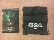 Sdcc 2019 Hbo His Dark Materials Poster And Drawstring Bag Comic Con Exclusive