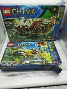 Lego Chima Lot Craggerand039s Command Ship 70006 And 70005 Lavaland039s Loyal Fighter