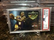 1997 Kobe Bryant La Lakers Hoops Frequent Flyer Club Psa 10 Rare Population 32