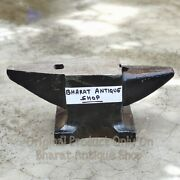 Antique Black Heavy Iron Anvil Blacksmith Making Tool Collectible 5kg