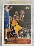 Kobe Bryant Rookie Card Mint Great Condition 138 Topps