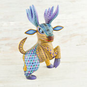 Deer Alebrije Masterpiece Oaxacan Wood Carving A1968 | Magia Mexica