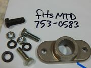 Blade Adapter Fits Mtd 717-0906 Lowes 42 36 38 Etc... W/ Bolts 753-0583