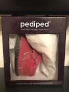 Pediped Infant Girls Leather Shoes - Lionel In Fuchsia - 0-6 Months - Never Worn
