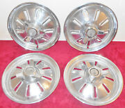1964 Corvette Sting Ray Coupe Convertible Original Spinner Hub Cap Wheel Covers